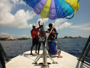 Marine Activities Para sail