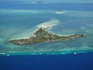 Aerial Picture Hilutungan Island