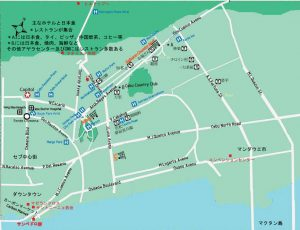 Cebu City Map Hotel Restaurant